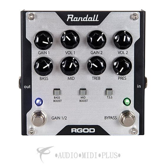 Randall Guitar Preamp Pedal - RGOD-U