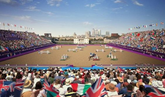 Greenwich park prepares for London 2012