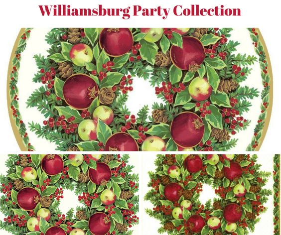Williamsburg Wreath Party Collection Banner