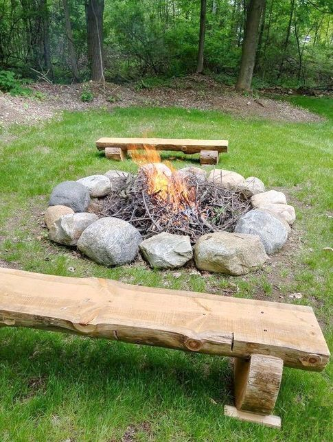How To Start A Fire In A Fire Pit In 2020 Fire Pit Diy Fire Pit Fire Pit Backyard