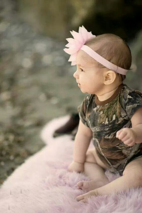 Cute country baby photography