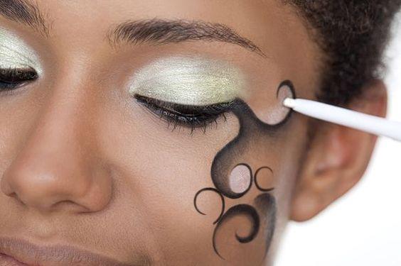 maquiagem artistica passo a passo - Google Search