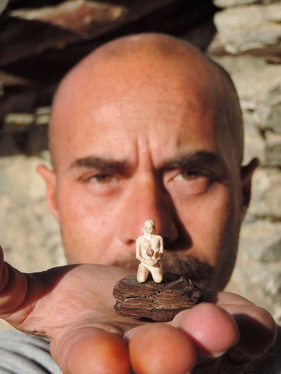 Miniatura di Nudo di Donna  Microscultura in di CiliArtAndDesign