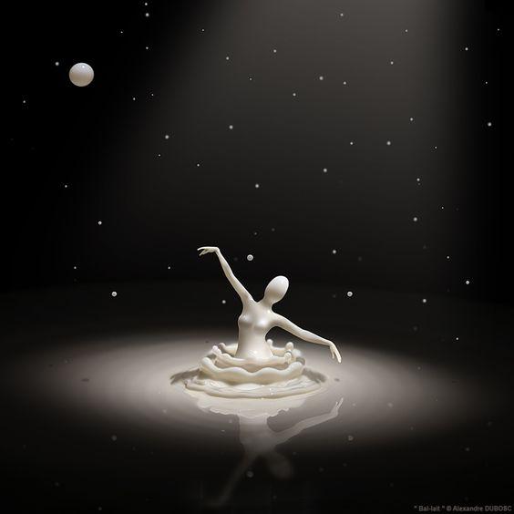 Photo Bal-lait art numérique