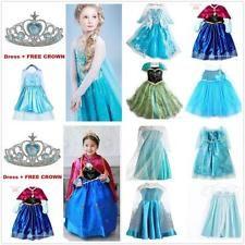 Los increíbles y mágicos vestidos de Anna y Elsa las hermanas del hielo.