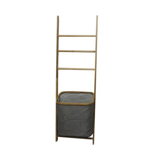 Rozella Free Standing Towel Stand Norden Home Free Standing Towel Rack Wall Mounted Towel Rail Bamboo Ladders