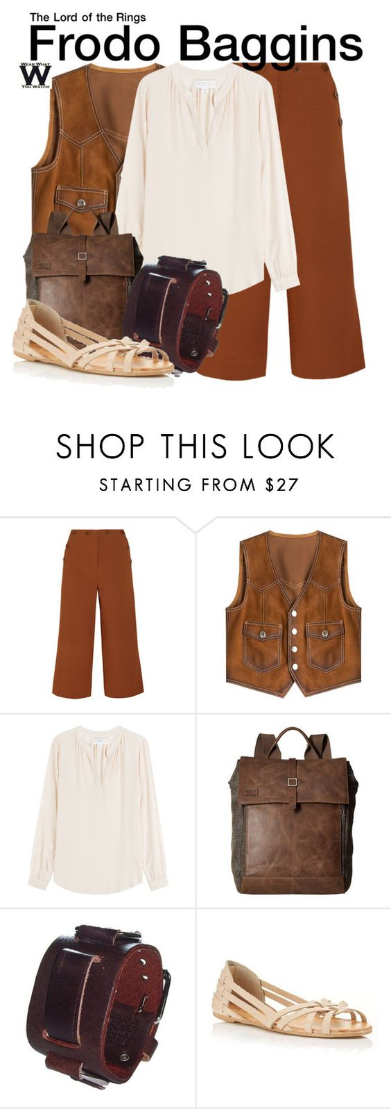 """""""The Lord of the Rings"""" by wearwhatyouwatch ❤ liked on Polyvore featuring TIBI, Dsquared2, Velvet, TOMS, Nemesis, Miss Selfridge, wearwhatyouwatch and film"""