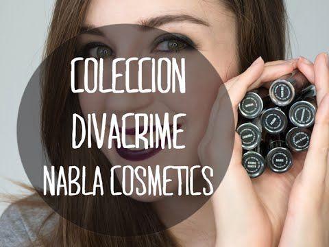 Sonorona: NablaCosmetics | Labiales DivaCrime Colección Completa