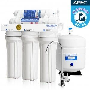 Ro 90 Ultimate High Output 90 Gpd Under The Sink Reverse Osmosis Drinking Water Filtrat Reverse Osmosis Water Reverse Osmosis Water Filter Water Filters System