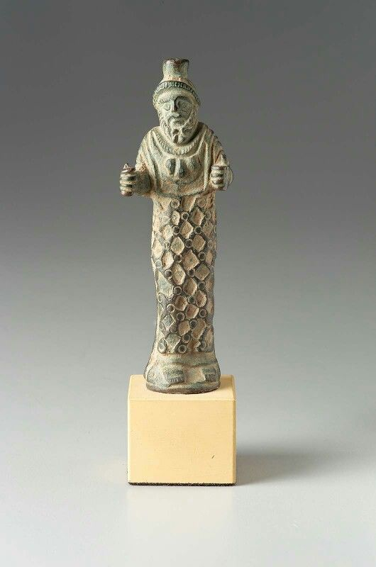 Carian Zeus. Bronze. Roman Provincial. Imperial Period, perhaps Antonine. Museum of Fine Arts, Boston. USA