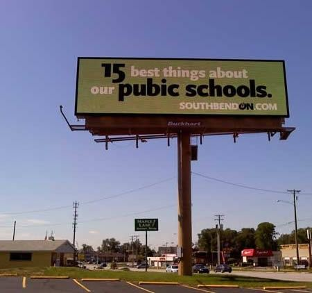 12 Funniest Misspelled Billboards - Oddee.com (misspelled billboards, bad billboards)