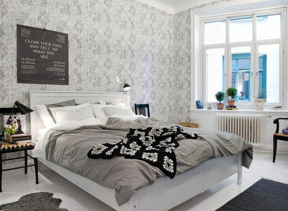 Sovrum | Alvhem Mäkleri och Interiör | Ideas for the House ...