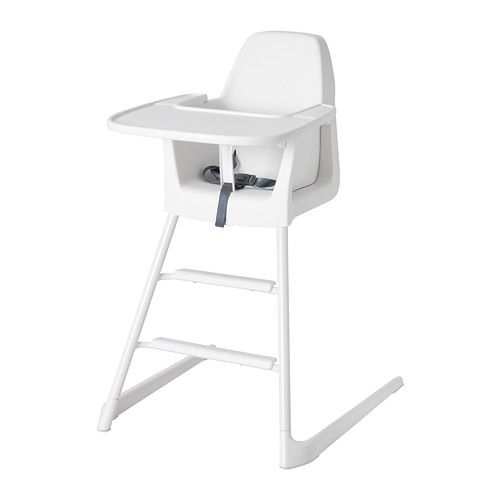 Langur High Chair With Tray White Ikea In 2020 Ikea High Chair High Chair Cute Desk Chair
