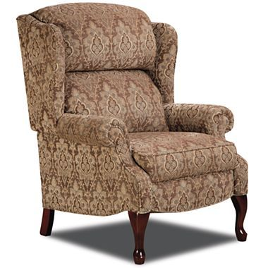 High leg lynwood recliner jcpenney rugs for Jcpenney living room chairs
