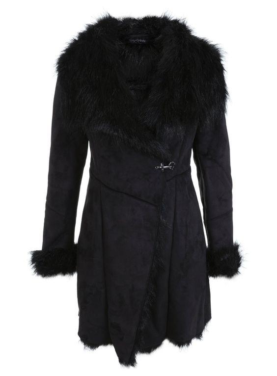 Photo 5 sur manteau en peau de mouton et fausse fourrure - Fausse peau de mouton ...