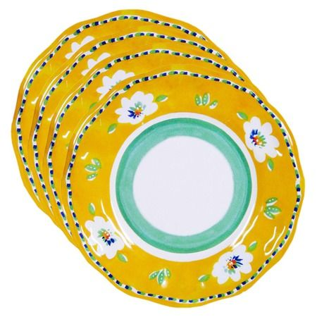 Campania Dinner Plate in Yellow from the Le Cadeaux event at Joss and Main