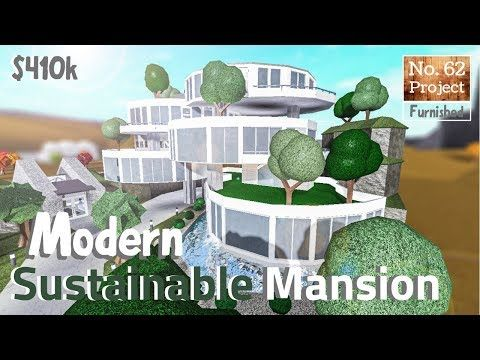 Bloxburg Build Huge Modern Sustainable Mansion Roblox Part 1 3 Youtube In 2020 Mansions Roblox Modern House Design