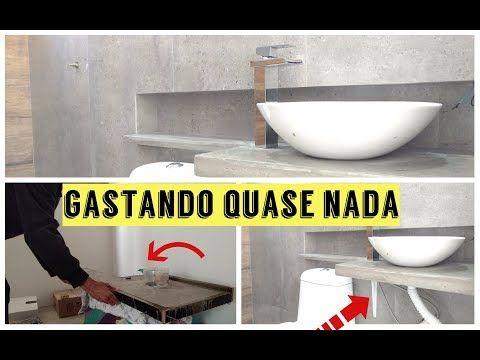 Bancada Em Concreto Passo A Passo Diario De Reforma 6 Youtube