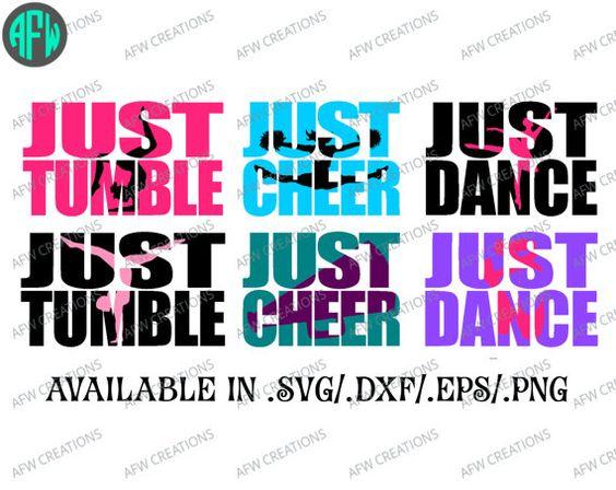 World Of Dance Font: Just Dance, Cheer, Tumble