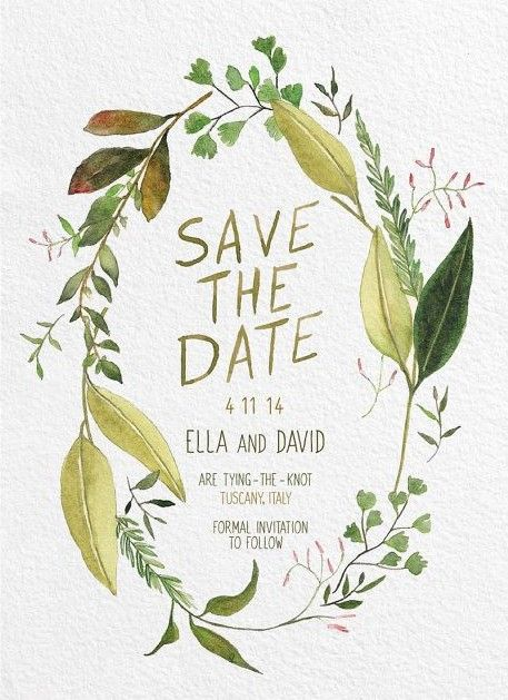Perfect Save the Date Wedding Ideas We Love - Alissa Saylor Photography via Green Wedding Shoes