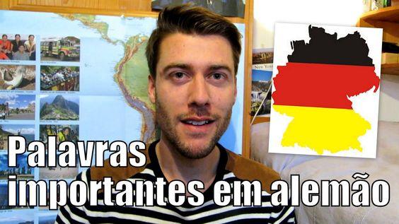 Aula de alemão #14   Palavras de cortesia, frases uteis (Parabéns, Boa s...