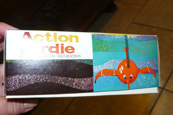 Fun Vintage ACTION BIRDIE Mint In Box  by VINTAGE5AN10CENTSHOP, $10.00