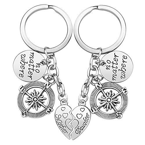 Perfect Gift for Mom or Daughter Mom Daughter Gifts Mother Daughter Keychain