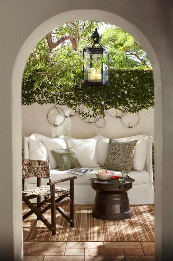 Terrasse et jardin d'esprit rustique – 23 idées magnifiques