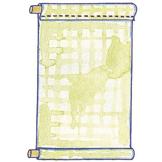 Instructions For Making Roll Up Blinds This Design Needs No Speciality Hardware Just Hooks And Battens Thi Roller Blinds Diy Diy Blinds Blinds For Windows