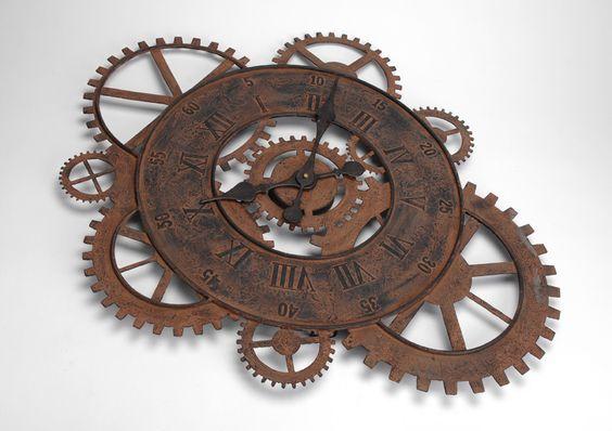Horloge rouage Amadeus sur lmladeco.com