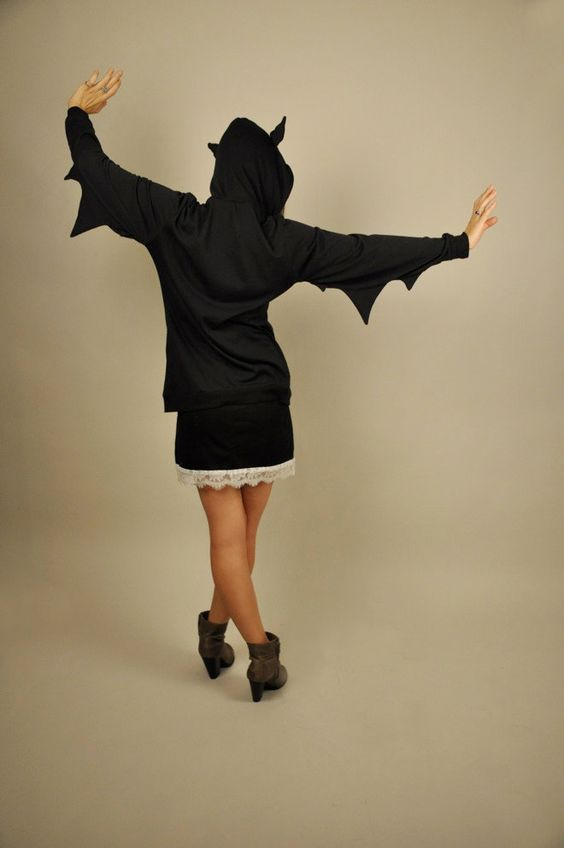And while I'm on the subject, this is a bat hoodie!