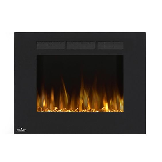 Shop Napoleon Nefl Allure Wall Mount Electric Fireplace At Atg
