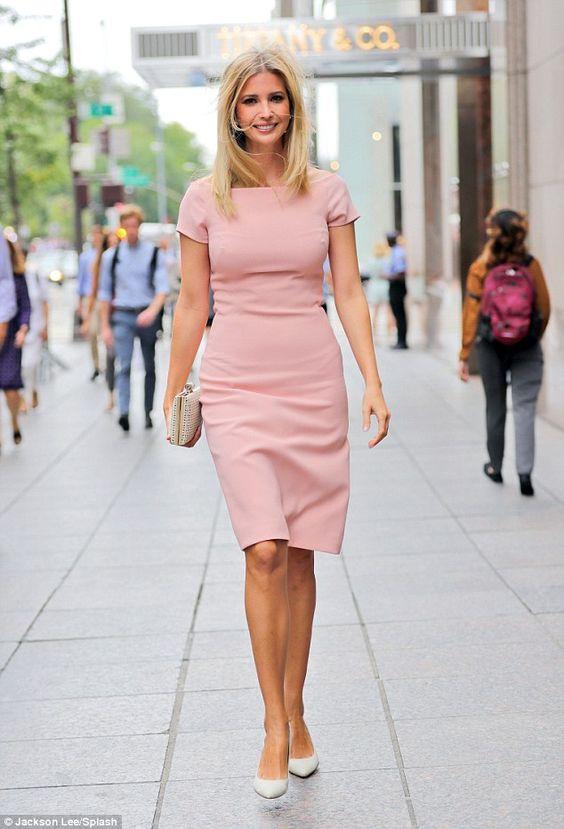 "Look darling in pink like Ivanka Trump  Click ""Visit"" to buy #DailyMail"
