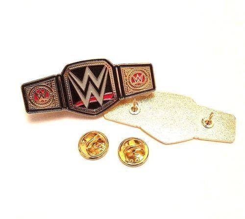 Wwe Wwf Ecw Enamel Pin World Heavyweight Champion Belt Wrestling Hasbro Lapel Enamel Metal Pin Badge Enamel Pins Belt Metal Pins