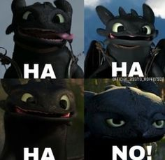 how to train your dragon toothless love - Google Search: