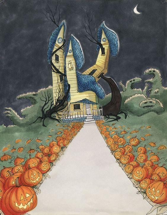 Trick or Treat dibujo de 1980.