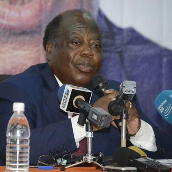 Candidat à la présidentielle 2015, Charles Konan Banny a profité le mercredi 14 octobre 2015 de la cérémonie de présentation officielle de son projet de soci&