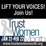 Reproductive rights are human rights!  Trust Women Month 2012