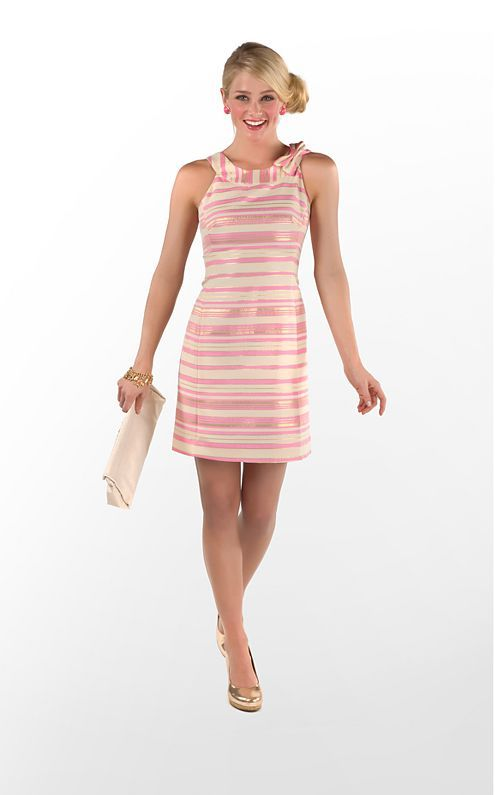Might be getting this Lilly Pulitzer dress to wear for my sisters bridal luncheon! :)
