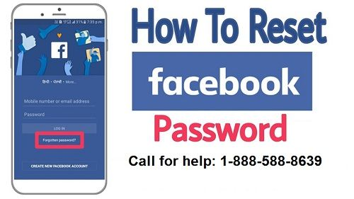 How To Reset Facebook Password Without Mobile Number Reset Passwords Internet Connections