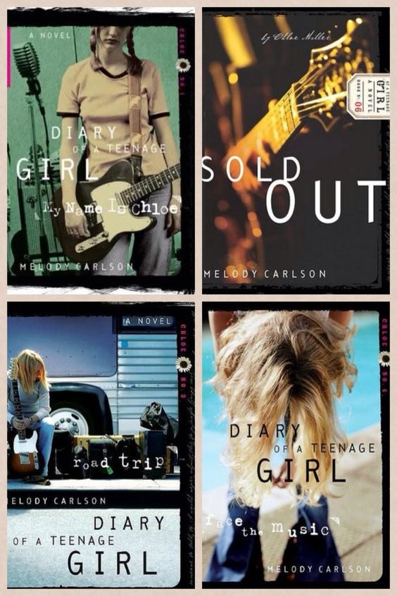 Diary of a teenage girl•Chloe series• left to right, top to bottom