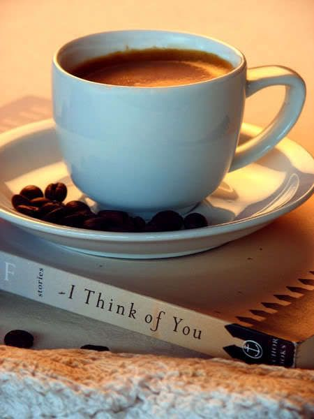 I think of you....* #cafe