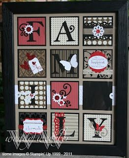Wickedly Wonderful Creations: FAMILY FRAME KITS!!!