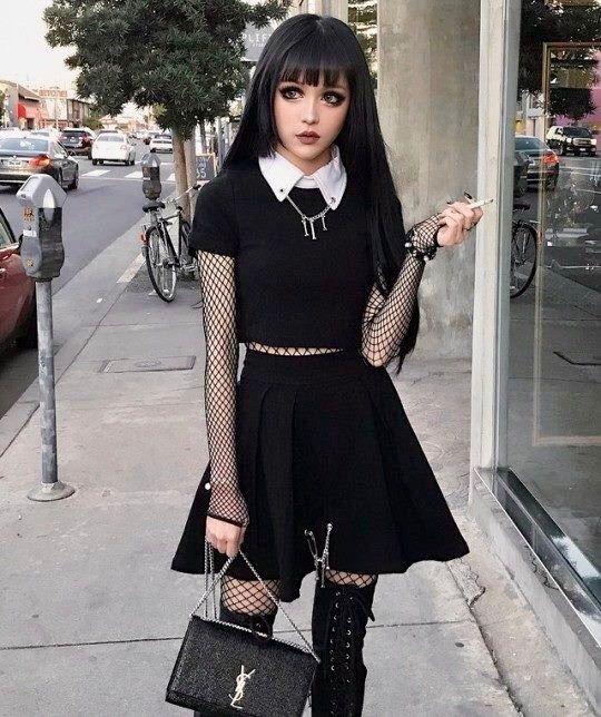 jeune fille gothic