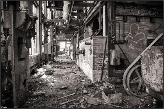The Huber Coal Breaker by Matthew Malkiewicz, via 500px