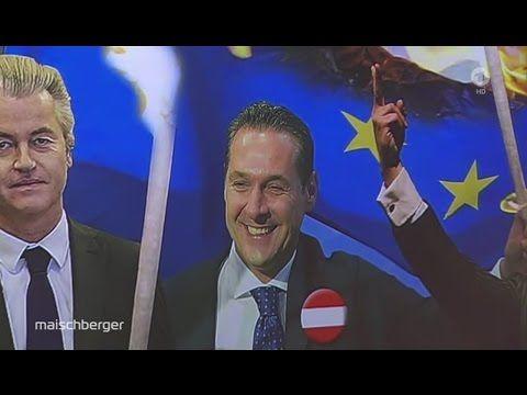 maischberger vom 29.06.2016 mit HC Strache | Rote Karte für Brüssel: Besiegen Populisten Europa? - YouTube