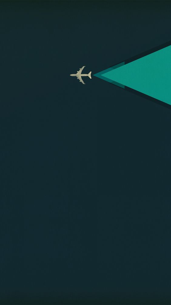 plane tap to see more nice minimalist iphone wallpapers