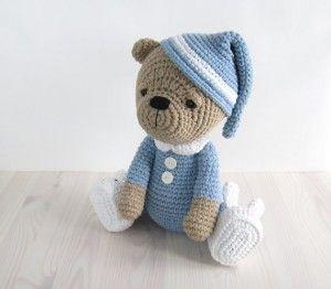 Crochet Teddy Bear Amigurumi Tutorial Debra Pinterest ...