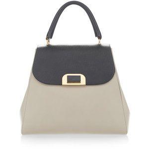 Marni Dark Sea Green And Sasso Handbag