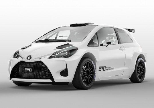 Evolve Toyota Yaris R4 Xp130 2018 Pr Yaris Toyota Sports Car